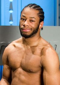The 32-year old son of father (?) and mother(?), 178 cm tall Jay Lethal in 2017 photo