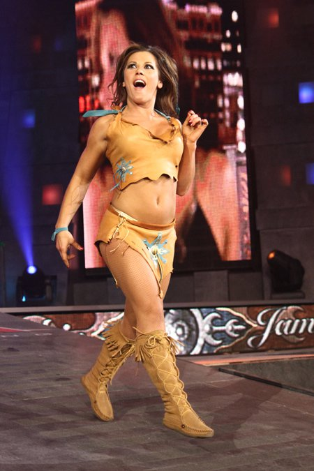 Think, that Mickie james in pantyhose for that