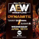 AEW annonce Sammy Guevara contre Sugar D pour Dynamite de mercredi sur TNT