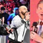 Le Revival réagit aux photos divulguées de l'idée folle de Vince McMahon de leur donner un nouveau gadget