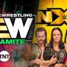 AEW Dynamite victorieux sur NXT en audience, les deux spectacles en baisse