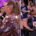 WWE News: Mike Tyson déclenche une bagarre de masse après avoir poussé Chris Jericho sur AEW Dynamite