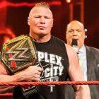Brock Lesnar peut être la raison pour laquelle une star de la WWE est tenue à l'écart de Monday Night Raw