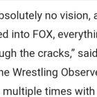 Eric Bischoff écrase la rumeur sur la raison pour laquelle la WWE l'a licencié