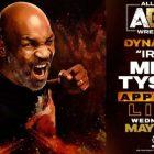 Mike Tyson annoncé pour AEW Dynamite mercredi