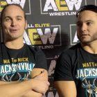 Mise à jour des coulisses sur la page The Young Bucks and Hangman de retour à AEW