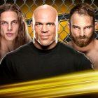 Kurt Angle revient dans le combat d'arbitre NXT Cage entre Matt Riddle et Timothy Thatcher