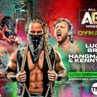 La page Young Bucks & Hangman revient pour sauver Kenny Omega sur AEW Dynamite