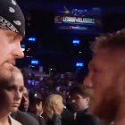 L'Undertaker explique enfin sa célèbre rencontre avec Brock Lesnar à l'UFC 121 en 2010