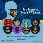 La WWE vend des masques pour la charité pendant l'épidémie de COVID-19