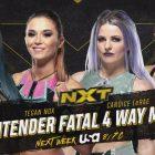 Fatal Four-way set pour déterminer un concurrent numéro un pour le titre NXT féminin
