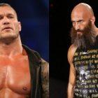 Tommaso Ciampa riposte après que Randy Orton se moque des lutteurs de la WWE NXT qui se giflent la jambe pendant les matchs