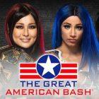 Io Shirai contre Sasha Banks ajouté à l'épisode Night One of Great American Bash NXT