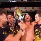 Nouvelles de la WWE: les membres de l'ère incontestée félicitent Adam Cole, les 5 plus grandes victoires du titre de Cole, Canvas 2 Canvas Features Aleister Black Artwork