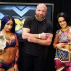 Triple H remercie Bayley et Sasha Banks après la WWE NXT, Io Shirai envoie un message après l'attaque (Vidéos)