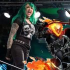 Le tank Ghost Rider de Shotzi Blackheart Hypes Marvel de WWE NXT