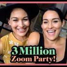 Les mises à jour sur la grossesse de Bella Twins, les stars de la WWE et la famille aident Bellas à célébrer le jalon des médias sociaux