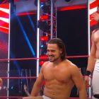 Résultats et récapitulation de la WWE (7/27) - Match triple menace - Angel Garza et Andrade (avec Zelina Vega) ont vaincu les Viking Raiders (Erik et Ivar) et Ricochet et Cedric Alexander; Nia Jax et Shayna Baszler ont terminé en double décompte