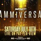 IMPACT annonce de nouveaux matchs pour Slammiversary PPV le 18 juillet