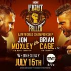 Jon Moxley contre Brian Cage pour le titre AEW, Orange Cassidy et Chris Jericho