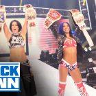 Entrées de la superstar de la WWE ThunderDome, invités de retour de Smack qui parlent, la WWE remercie les fans pour ThunderDome