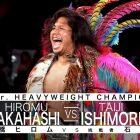 Taiji Ishimori remporte le titre IWGP Jr. des poids lourds à la lutte estivale NJPW à Jingu