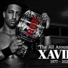 Décès de l'ancien champion ROH Xavier
