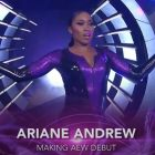 Ariane Andrew confirme qu'elle est un joueur autonome; N'a pas signé avec AEW
