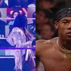 """La star de la WWE réagit sur Twitter après que le panneau """"Fire Velveteen Dream"""" soit passé devant la caméra pendant SummerSlam"""