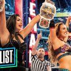 Nouvelle marque déposée de la WWE révélée, The Miz - Cannonball Season Finale, The IIconics's Defining Moments