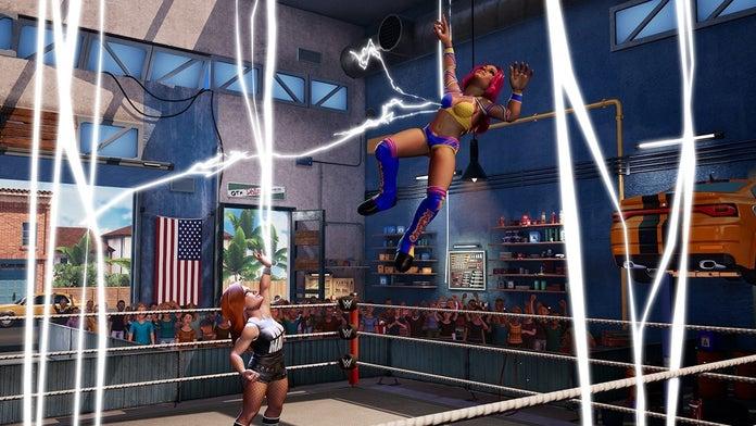 WWE-2K-Champs de bataille-Becky-Lynch-Sasha-Banks