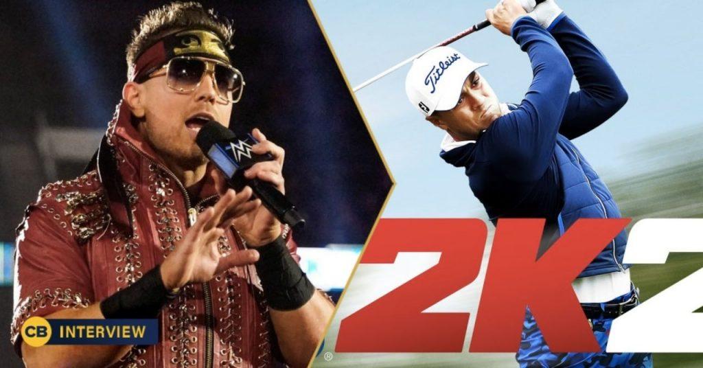 The Miz Talks PGA Tour 2K21 de la WWE, défier Justin Thomas et plus