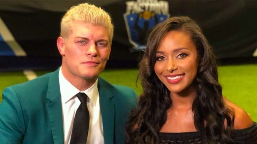 Cody and Brandi Rhodes celebrate wedding anniversary