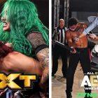 Notes AEW Dynamite et WWE NXT: AEW bat NXT dans le premier face à face en un mois