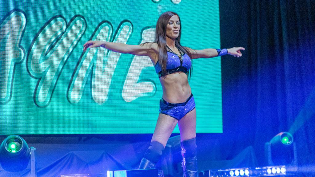 Madison Rayne affrontera Kylie Rae pour le titre féminin Warrior Wrestling