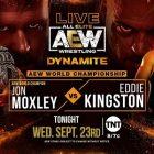 Cody Returns, Jon Moxley contre Eddie Kingston
