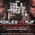 Jon Moxley contre.  MJF: Faire la guerre et prouver un point à AEW 'All Out'