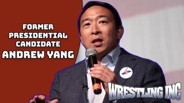 """Andrew Yang dit que les talents de la WWE et de l'AEW rejoignant SAG seraient """"transformateurs"""""""
