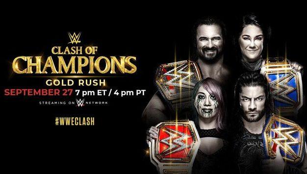 Cotes des premiers paris pour le Clash of Champions de la WWE