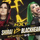 Shotzi Blackheart affronte Io Shirai la semaine prochaine dans un match sans titre