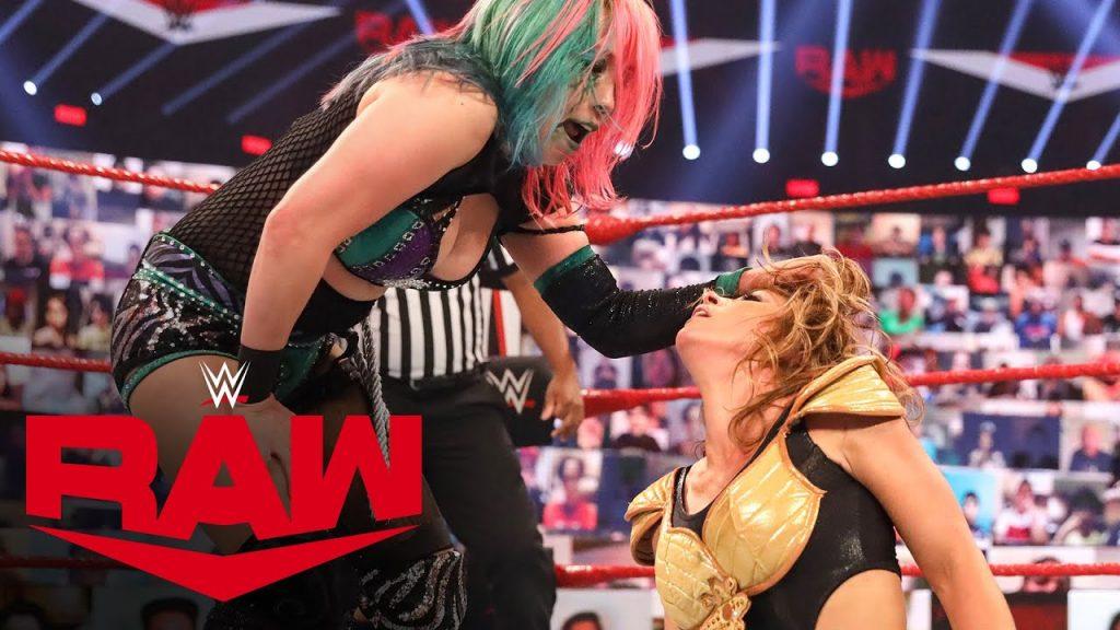 Fini maladroit pour le match pour le titre WWE RAW, nouveau challenger pour Asuka révélé?  (Vidéos)