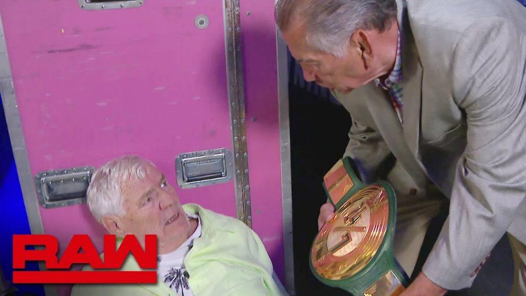 """La légende de la WWE Gerald Brisco révèle sa """"grande annonce"""""""