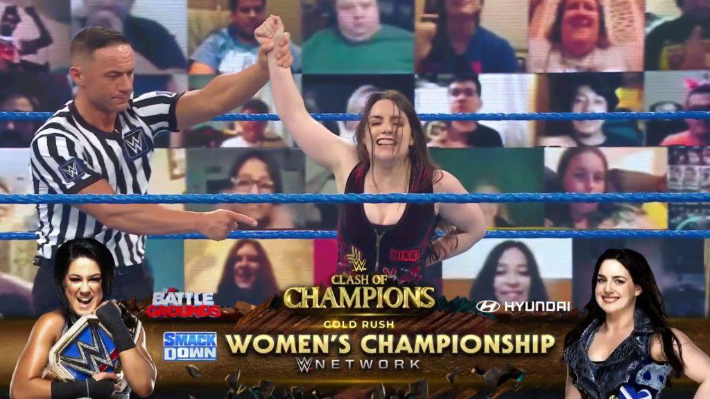 Nikki Cross reçoit un match pour le titre contre Bayley au Clash of Champions