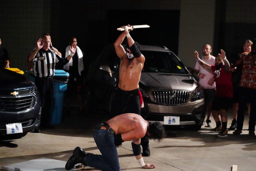 Ortiz d'AEW parle de Jerry Lynn comme agent du combat sur le parking