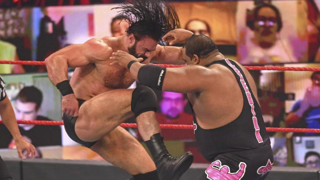 Résultats WWE Raw: Récapitulation en direct, notes comme Drew McIntyre contre Keith Lee, titre de triple menace par équipe