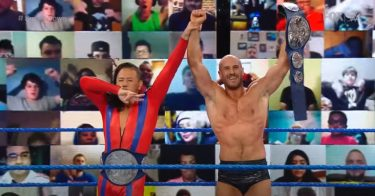 Résultats WWE Smackdown (9/18) - Cesaro (avec Shinsuke Nakamura) a battu Gran Metalik (avec Kalisto et Lince Dorado)