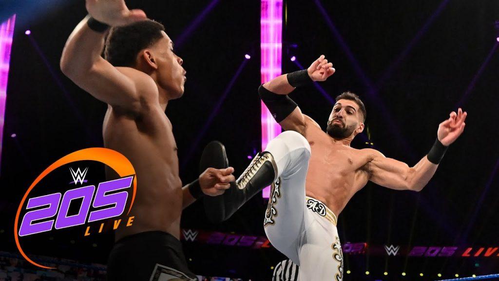 Résultats en direct de la WWE 205 - 18/09/20 (Daivari's Dinero Division, Nese vs Burch)