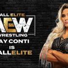 AEW signe officiellement Tay Conti
