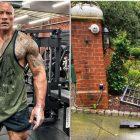 WWE News: The Rock arrache le portail électrique à mains nues pour se rendre au travail à l'heure