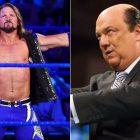 AJ Styles commente la fusion de Roman Reigns avec Paul Heyman